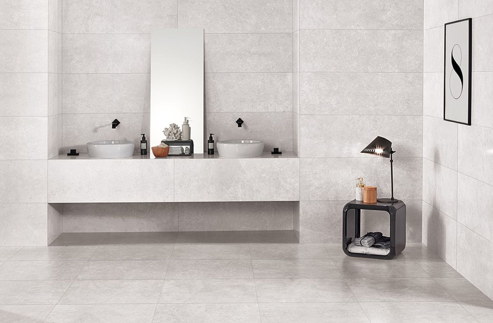 Love Tiles Marble Marble Light Grey Matt
